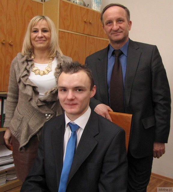 Alicja Rykowska, Rafał Berlicki i Adam Maksymczyk