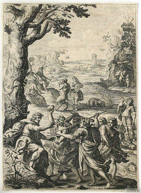 F. Cleyn, S. Savery, Ilustracja do XI księgi Metamorfoz Owidiusza