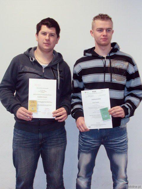 Adrian Rzepa i Karol Najdek