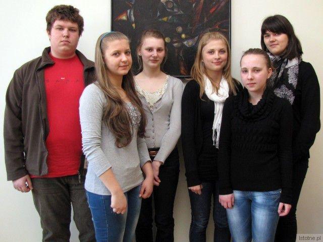 Jędrzej Janczewski, Magdalena Blatkiewicz, Agata Reguła, Anna Łaniocha, Klaudia Oślak i Aleksandra Siembida