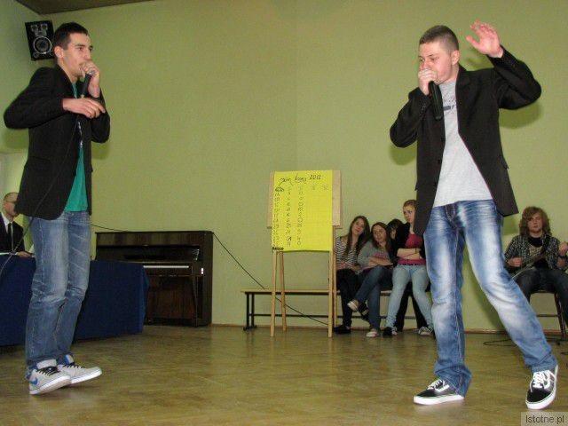 Po prawej: Dawid Wołoch