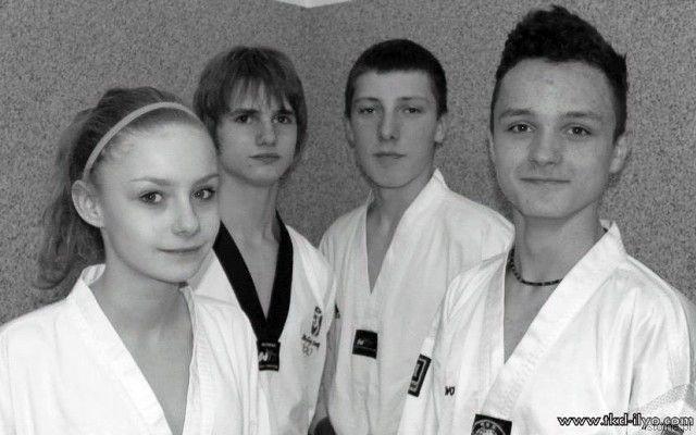Paulina Stojanowska, Kamil Serafin, Adam Filipek i Remigiusz Różnicki