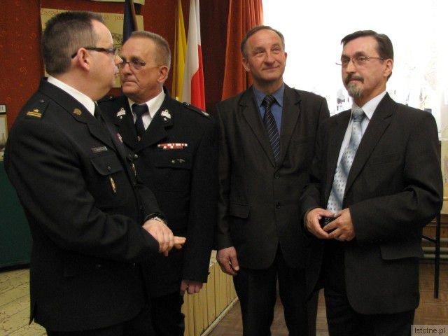 Robert Brzeziński, Zbigniew Bożęcki, Adam Maksymczyk i Jan Russ