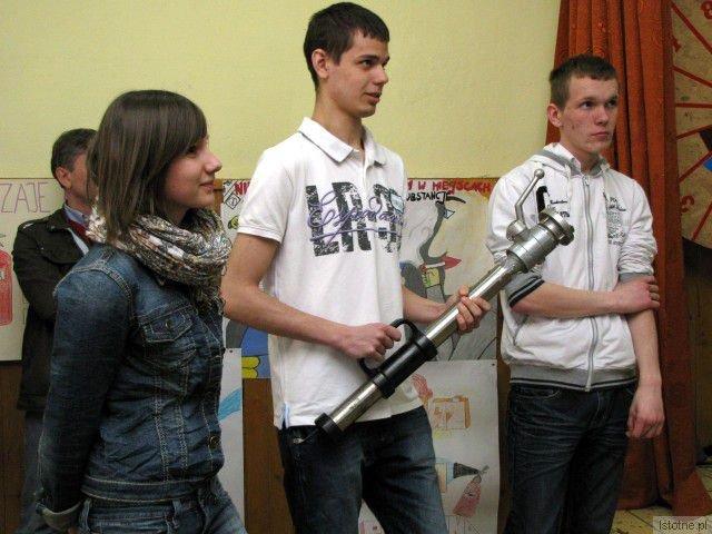 Anna Latosińska, Mateusz Kopeć i Dawid Stryczek
