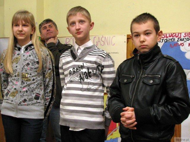 Paulina Owerko, Jan Łaniocha i Patryk Oleksy