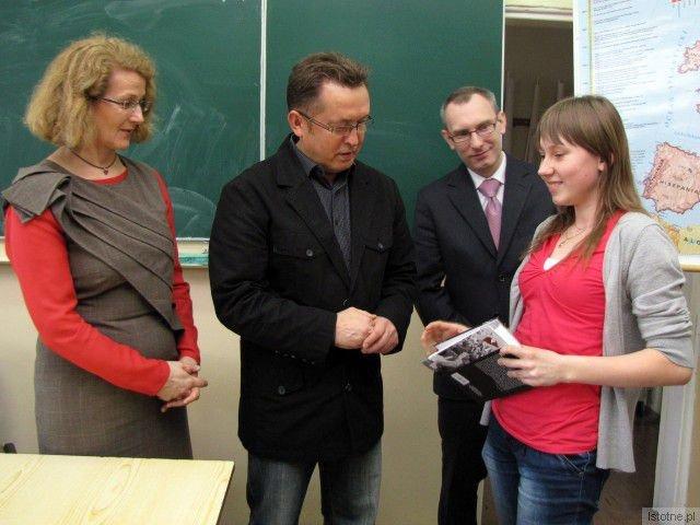 Barbara Sykulska, Mirosław Sakowski, Łukasz Sołtysik i Natalia Horodyska