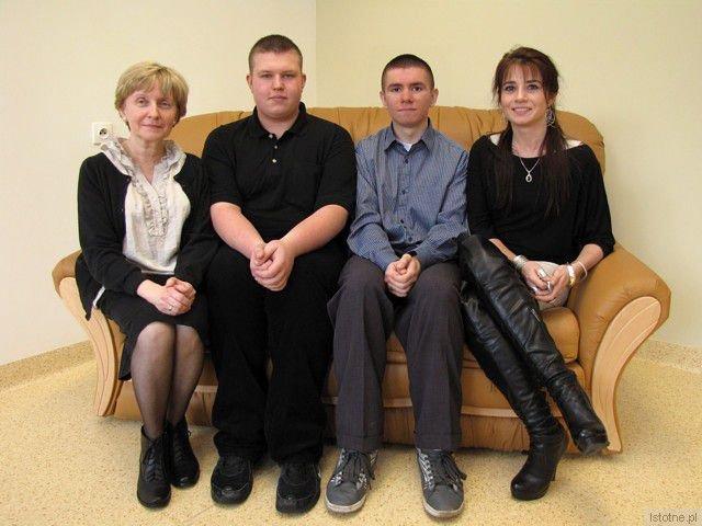 Dorota Kurowska, Jędrzej Janczewski, Rafał Ryżewski i Beata Mosorka