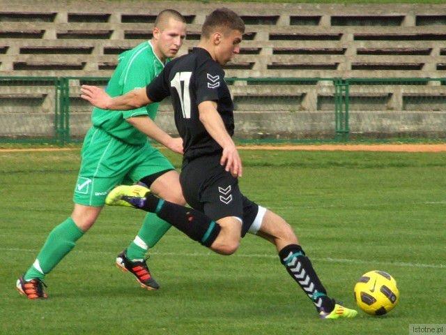 Jacek Bochnia - strzelec dwóch goli dla BKS