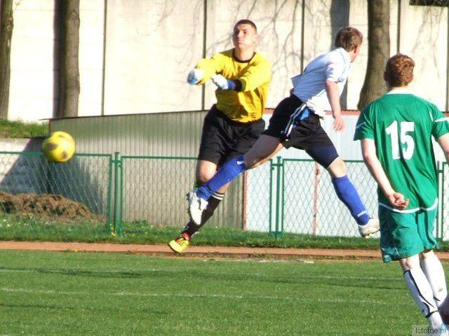 Bramkarz BKS - Bartosz Bochnia zachował w meczu czyste konto