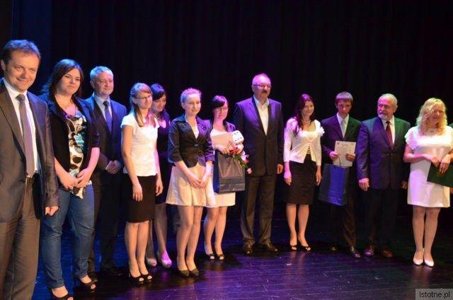 Laureaci konkursu Młody Przedsiębiorca