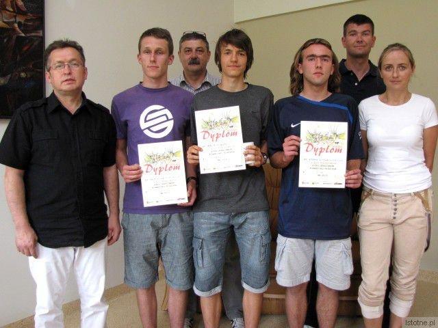 Mirosław Sakowski, Wojciech Domowicz, Krzysztof Malina, Maciej Goss, Adam Rozwadowski, Piotr Napiórkowski i Edyta Kwiecińska