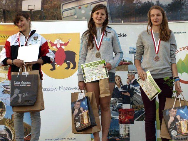 W środku: Angelika Haniszewska
