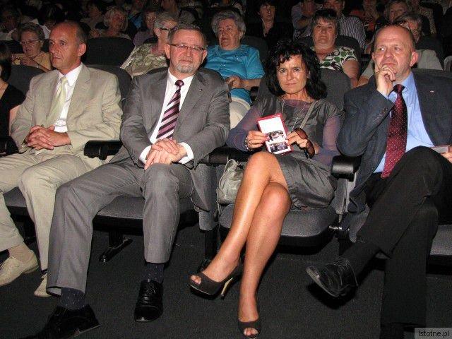 Dr Artur Zaborski, Jerzy Zieliński, Agnieszka Gergont i Kornel Filipowicz