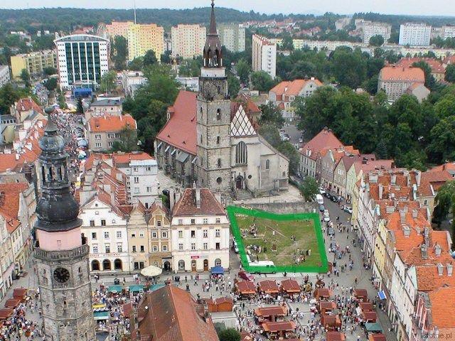 Plac w Rynku przed Sanktuarium