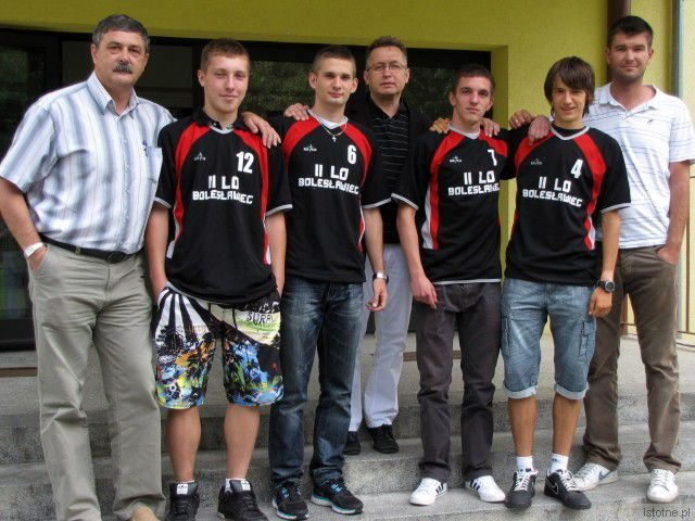 Krzysztof Malina, Adam Filipek, Maciej Chojnacki, Mirosław Sakowski, Marek Mikułko, Maciej Goss i Piotr Napiórkowski