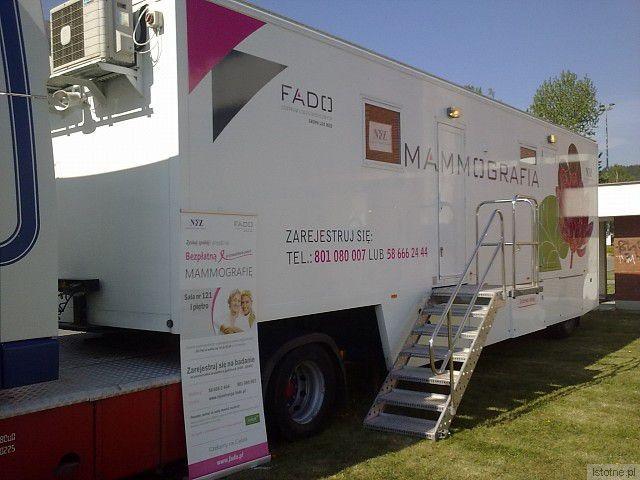Mammobus będzie w Nowogrodźcu (13 sierpnia) na parkingu przy Urzędzie Miasta oraz w Osiecznicy (14 sierpnia) na parkingu przy Urzędzie Gminy