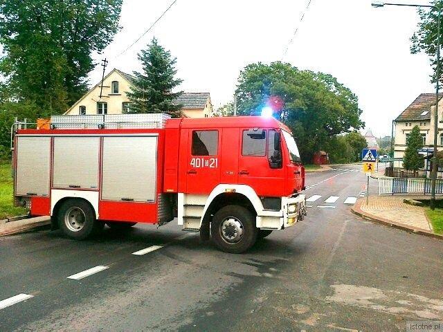 Trasa Bolesławiec - Dobra jest zablokowana