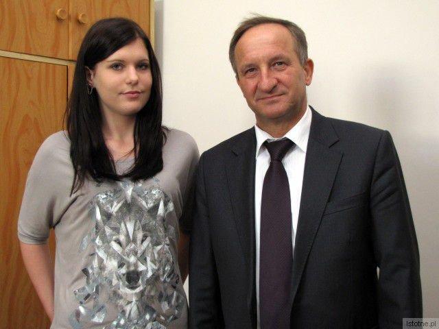 Katarzyna Marecka i Adam Maksymczyk