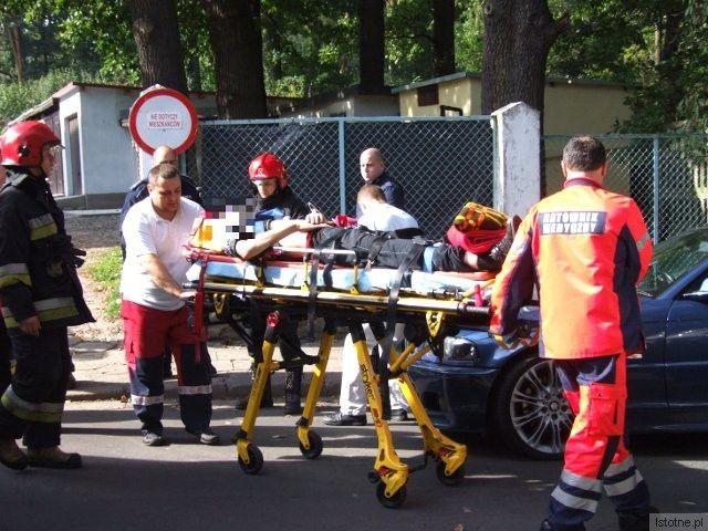 Do szpitala trafiło 5 osób