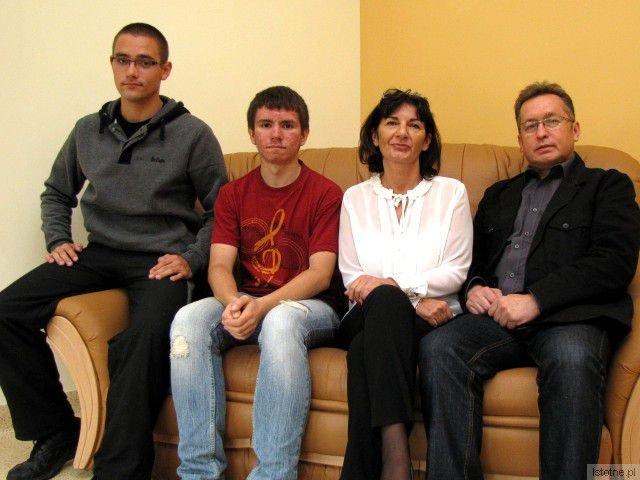 Bartłomiej Słobodzian, Rafał Ryżewski, Ewelina Kałużna i Mirosław Sakowski
