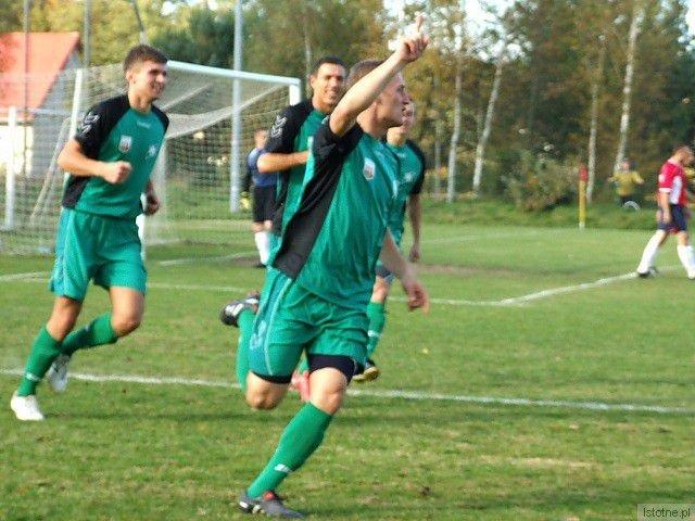 W 2 minucie Wojciech Glanc zdobył dla BKS pierwszego gola