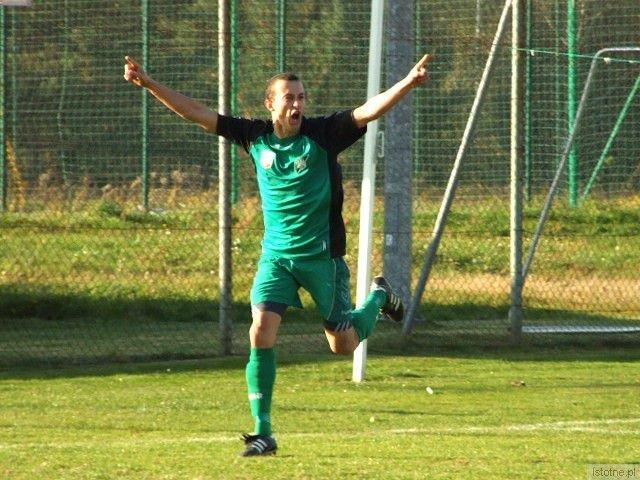 Zbigniew Mastalerz - zdobywca drugiego gola dla BKS