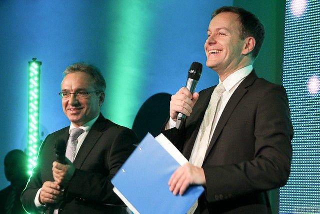 Piotr Roman i Steffen Möller