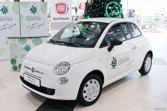 Fiat 500 do wygrania w konkursie Galerii