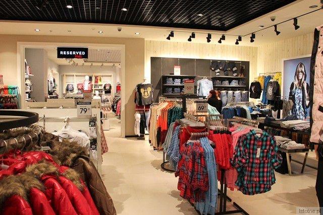Wnętrze sklepu Reserved