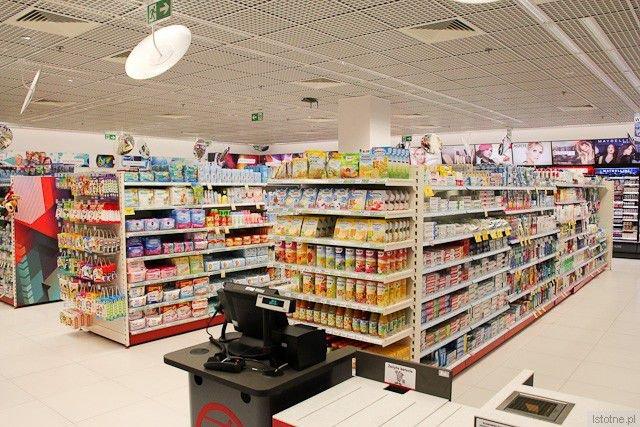 Wnętrze sklepu Rossmann