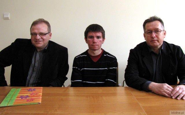 Mieczysław Szwed, Rafał Ryżewski i Mirosław Sakowski