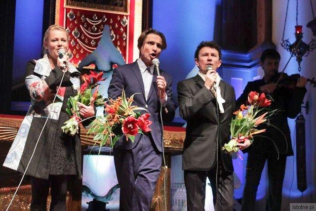 Olga Szomańska, Janusz Radek i Jacek Wójcicki