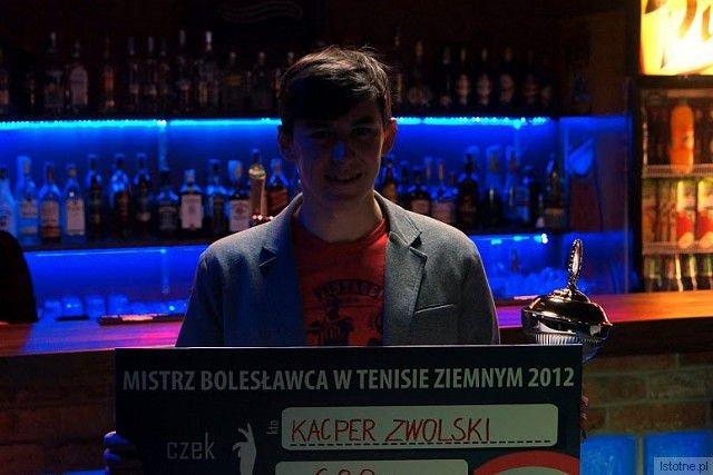 Kacper Zwolski – tenisowy mistrz Bolesławca
