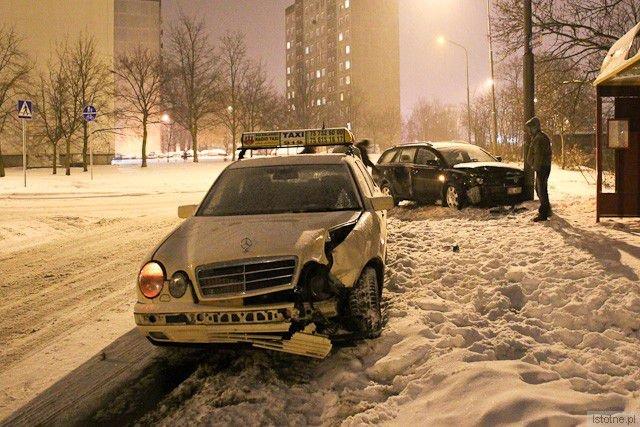 Taksówkarz prawdopodobnie wymusił pierwszeństwo