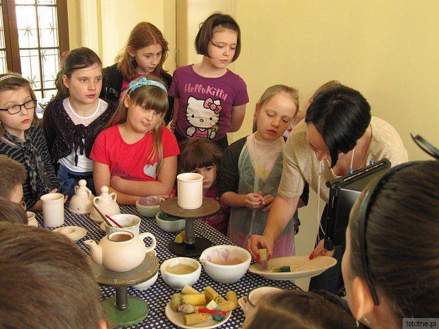 Warsztaty ceramicze w bolesławieckim Muzeum w ramach projektu