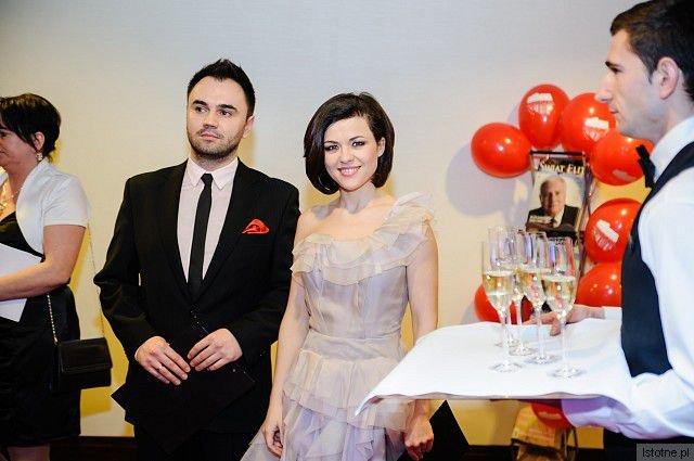Katarzyna Cichopek oraz Szymon Kusarek