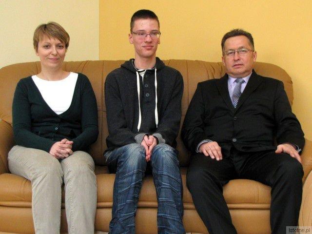 Anna Lisiak, Przemysław Pawłowski i Mirosław Sakowski