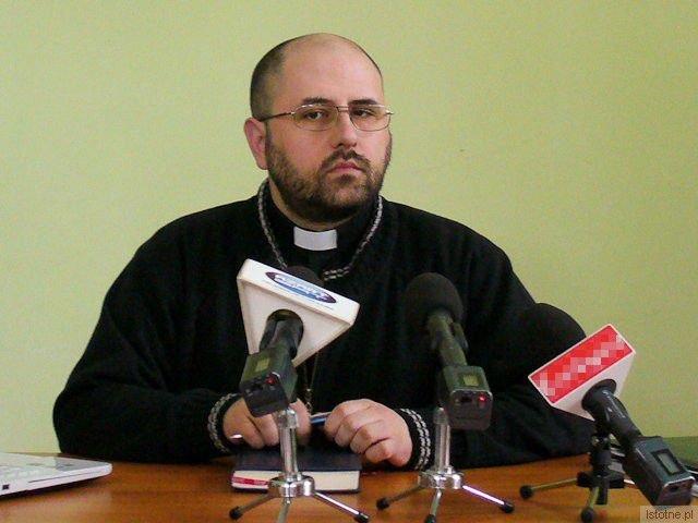 Adam Langhammer, wicedyrektor Zespołu Szkół w Katowicach