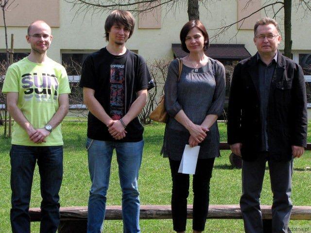 Robert Mazur, Kacper Piecyk, Anna Sas i Mirosław Sakowski