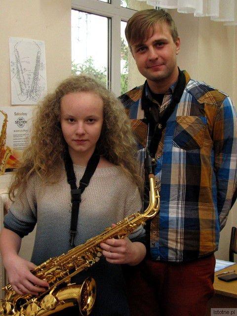 Julia Gołębiowska i Mateusz Boduch