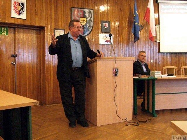 Jerzy Ludwin - wiceprezes Dolnośląskiej Organizacji Turystycznej