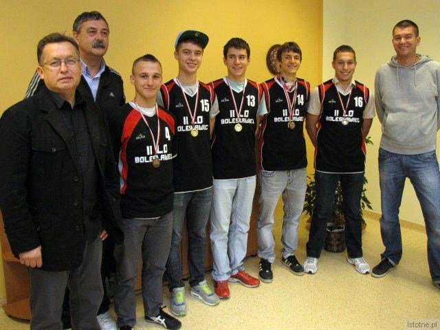 Mirosław Sakowski, Krzysztof Malina, Mateusz Kopeć, Kamil Igras, Mateusz Więcek, Maciej Goss i Piotr Napiórkowski
