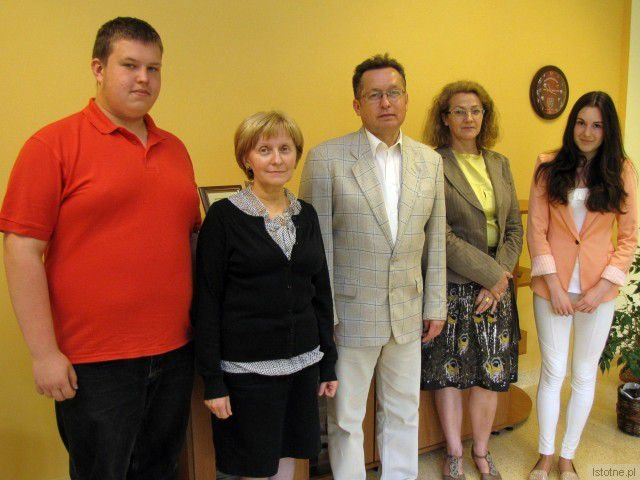Jędrzej Janczewski, Dorota Kurowska, Mirosław Sakowski, Barbara Sykulska i Martyna Stasiak