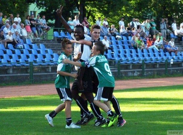 Emmanuel Ohagwu zaliczył w meczu z Kwisą klasycznego hat-tricka