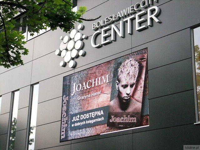 Boleslawiecka galeria City Center włączyła sie w promocję książki Grażyny Hanaf