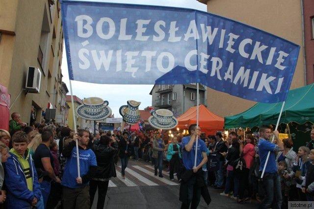 Promocja Bolesławieckiego Święta Ceramiki we Lwówku