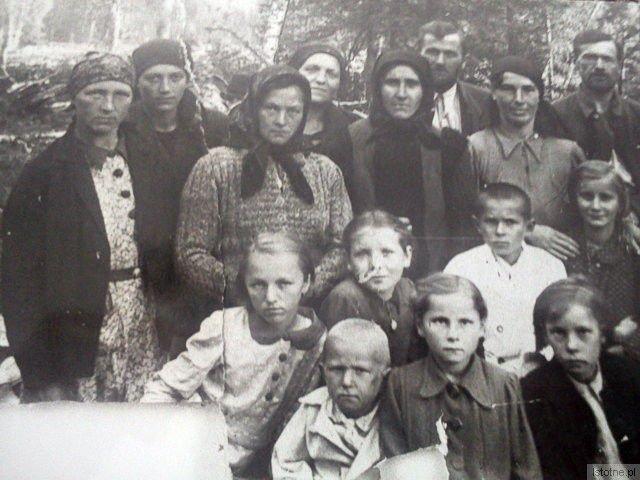 Zesłańcy w Inokienkiwce, 1940-1946
