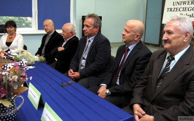 Maria Adamowicz, Waldemar Bugaj, dr Zygmunt Bobowski, Piotr Roman, Kornel Filipowicz i Józef Pokładek