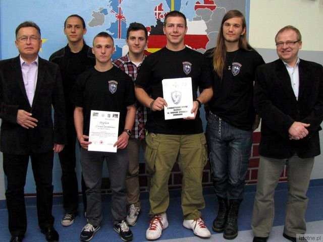 Mirosław Sakowski, Jakub Feret, Mateusz Kopeć, Bartek Burzyński, Denis Gonciarz, Maciej Mocny i Mieczysław Szwed