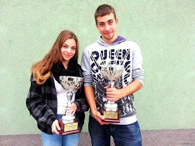 Ewa Ochocka i Damian Gradzik